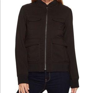 Prana Minx Black Bomber Jacket